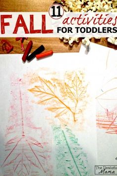 11 Fall Activities for Toddlers