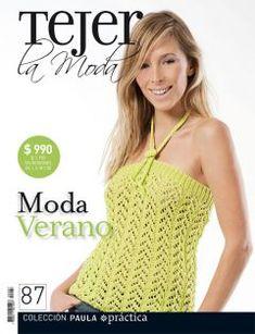 TODAS LAS REVISTAS DE MANUALIDADES GRATIS: Revista Tejer la moda