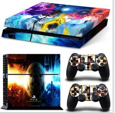 Video Game Accessories Regular Ps4 Consoles The Seven Deadly Sins Meliodas Vinyl Decals Skins Stickers Comfortable Feel