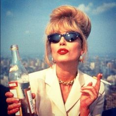 Absolutely Fabulous specifically Joanna Lumley