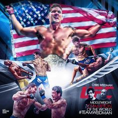 """fan-made collage of """"and still"""" champion Chris Weidman : if you love #MMA, you'll love the #UFC & #MixedMartialArts inspired fashion at CageCult: http://cagecult.com/mma"""