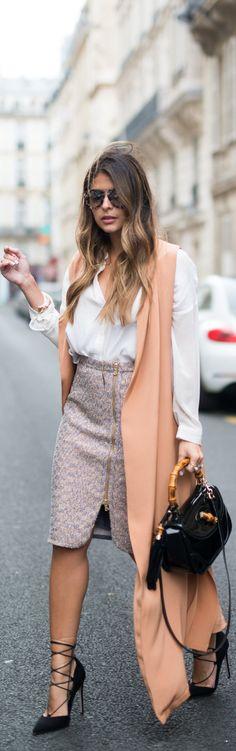 Sleeveless Vest / Fashion By The Panama Girl