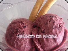 COMO HACER HELADO DE MORA (O con cualquier tipo de mermelada)