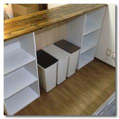 カラーボックスでキッチンカウンターを。作り方やアイディア集まとめ | iemo[イエモ]
