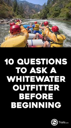 Planning a #WhitewaterRafting trip this spring or summer? Rivers differ in such categories as gradient, shape, rockiness, hazards, thrills, temperature, seasonal changes and scenery. Outfitters vary somewhat less, but are not completely equal in emphasis on safety, experience and overall excursion quality. Most responsible river guides belong to at least one professional organization in order to keep up with current safety procedures and equipment.  | 10 Questions to Ask a Whitewater…