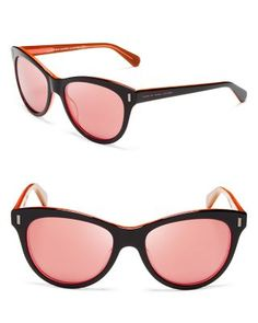 MARC BY MARC JACOBS Mirrored Cat Eye Sunglasses | Bloomingdale's