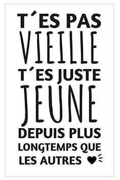 Birthday Captions, Birthday Quotes, Positive Attitude, Positive Vibes, Words Quotes, Sayings, Quotes Quotes, French Quotes, Funny Quotes