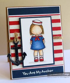 A Paper Melody: MFT's February Release Countdown Day 6 - You Are My Anchor