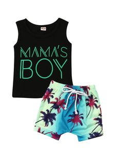 Cathery Toddler Kids Baby Boy Clothes T Shirt Tops & Shorts Pants Summer Outfits Cute Baby Boy Outfits, Boys Summer Outfits, Little Boy Outfits, Summer Boy, Toddler Boy Outfits, Short Outfits, Kids Outfits, Baby Boy Jordan Outfits, Toddler Boys