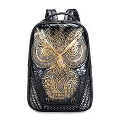Fashion Women Backpack Owl Backpack  #handbag #backpackers #unisexbag #backpacks #fashionshop #school #handbags #work #fashion #backpackschool