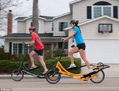 Novel: The ElliptiGO offers the safe, no-impact exercise that runners with joint problems prefer while allowing the rider to move away from the gym...I would TOTALLY buy one of these!