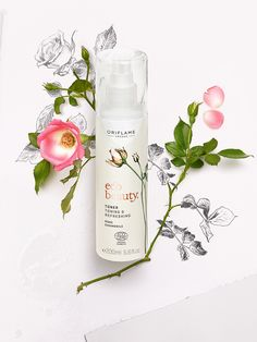 A refreshing wonder mist Toner for skin that feels a bit dry and unhappy.