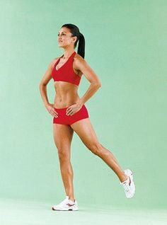 Booty Kick - 8 Simple Exercises to Get Rid Of Saddlebags for Women