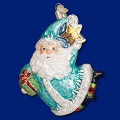 Mystical Santa Glass Ornament by Old World Christmas
