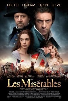 Les Miserables Movie Poster Puzzle Fun-Size 120 pcs
