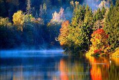 Misty River, Latvia