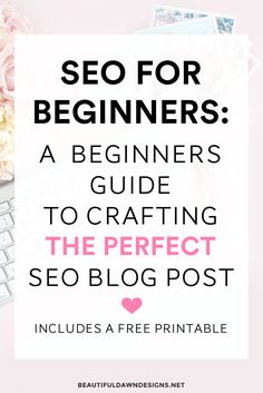 SEO for beginners tutorial. This tutorial shows you how to SEO your blog post for search engines.