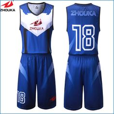 ZhouKa Personal basketball uniform customizing,sublimation printing custom your own design basketball set Custom Basketball Uniforms, Basketball Jersey, Nhl Jerseys, Shirt Designs, Jersey Designs, Sportswear, Printing, Athletic, Basketball