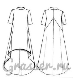 Dress Sewing Patterns, Clothing Patterns, Sewing Clothes, Diy Clothes, Fashion Design Sketches, Refashion, Designs To Draw, Dressmaking, Designer Dresses