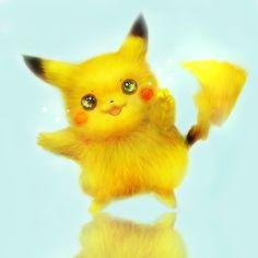 Download wallpaper art, 42 7, anime, pokemon, pikachu, stars, animals, reflections, fur, anime resolution 2000x2000
