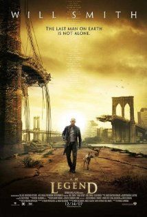i am legend (similarities to the actual (awesome) book: main character's name. NOTHING ELSE.)