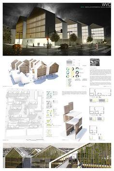 184 best presentation board design images in 2016 Architecture Design, Architecture Panel, Architecture Student, Architecture Portfolio, Landscape Architecture, Drawing Architecture, Presentation Board Design, Architecture Presentation Board, Architectural Presentation