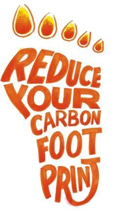 Reduce, Reuse, Recycle! #Carbon #footprint