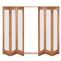 Image of Folding Doors, IFS-6MFMAR Marston 6 Door Set, Frame & Frosted Glass