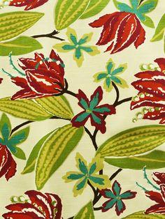 BRIGHT FLORAL FUCHSIA #multi-colored #print-fabrics #various