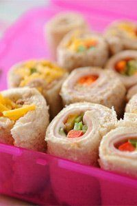 Sandwich sushi - Bailey lunches