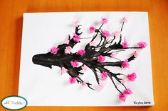 Cherry blossom art project