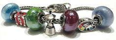 Beads Tedora, compatibile con pandora, trollbeads ecc Facebook: pianeta beads sito web: www.gold-jewels-italy.com