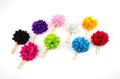 Spring Lapel Flower. Now available to purchase in individual pieces.