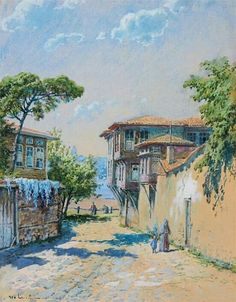 Hoca Ali Rıza - الرسام التركي الخوجه علي رضا 1858- 1939