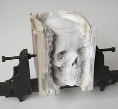 Fancy - Book Skull by Maskull Lasserre