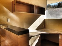 Home office / reception constructed by sp.FURNITURE in Perth, Western Australia www.spfurniture.com.au and Nicholas Burns Architecture.