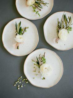 A WordPress Site | Modern Garden Wedding Inspiration// Style Me Pretty