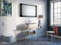 Lustro łazienkowe Zenit LED z oświetleniem LED/Mirror Zenit LED Led Mirror, Mirrors, Double Vanity, Bathroom, Lighted Mirror, Oval Mirror, Full Body Mirror, Shower Enclosure, Washroom