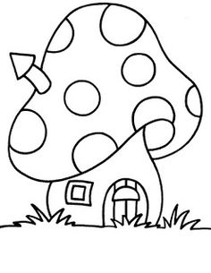 Ideas house drawing kids coloring pages Easy Coloring Pages, Coloring Pages For Kids, Coloring Sheets, Coloring Books, Kids Coloring, Applique Patterns, Applique Designs, Embroidery Designs, Applique Ideas