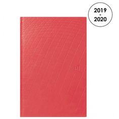 Retrouvez une large sélection de fournitures scolaire à petit prix sur Maxirentree.fr : Agenda semainier Textura rouge 16x 24 cm.