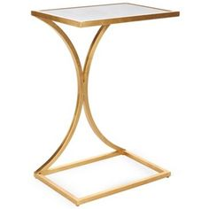 Check out this item at One Kings Lane! Monroe Side Table, Gold