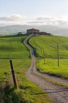 Val d'Orcia, Tuscany, Italy by mathrong