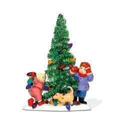 """Department 56: Products - """"Everyone Decorates The Tinsel Tree"""" - View Accessories"""