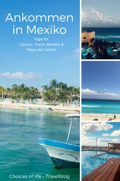 Ihr reist nach Mexiko, nach Yucatan und möchtet erst einmal ankommen? Ich gebe euch einen Überblick über Playa del Carmen, Cancun und Puerto Morelos und wo ihr euch am besten akklimatisieren könnt nach dem langen Flug.   Reisetipps Playa del Carmen, Reisetipps Cancun, Reisetipps Puerto Morelos