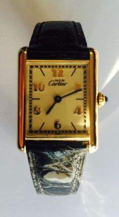 eb537015ef6e Authentic Cartier Art Deco Tank Watch - Swiss Made