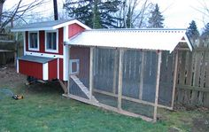 Mavis Mail - Destini From Port Orchard, Washington Sends in Her Chicken Coop Photos | One Hundred Dollars a Month