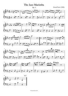 The Jazz Marimba (ONLY WATCH VIDEOSCORE)