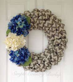 Spring and summer wedding Gray white by SimpleCountryBurlap
