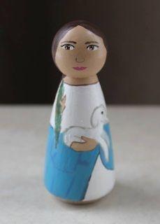 St. Agnes Female Saints - Ceci's Little Saints