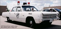 1967 Plymouth Fury police cruiser